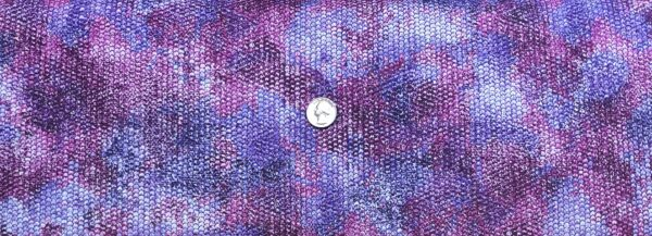 Purple and pink ombre scales all over with metallic silver accents. Atlantia by Robert Kaufman 18284 - fabric by the yard