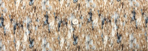 Brown and blue tonal wood look blender. Hidden Valley by Wilmington Prints 30182 - One yard of fabric.