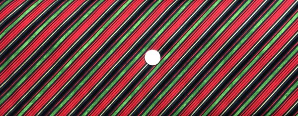 Christmas stripe in diagonal red, gold, green and black. Comfort and Joy by Wilmington Fabrics 51887 - fabric by the yard