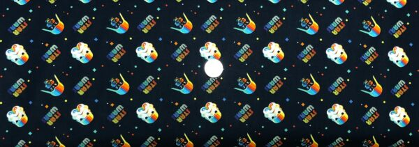 Star Wars fabric. Lucas Rainbow Empire Helmets. Camelot Fabrics 73010928 - Fabric by the yard
