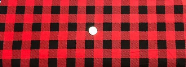 Buffalo check in black and red. Red and black squares. Man Cave by Windham Fabrics 51869A - 1 Fabric by the yard.