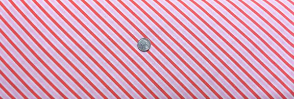 Valentines Day stripes! Red, white and pink diagonal stripes. Love Letters by Riley Blake C8864 - Fabric by the yard
