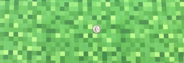 Minecraft green pixels. Minecraft Pixels by Springs 20232 - Fabric by the yard