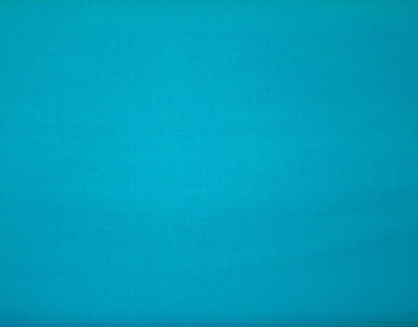 Turquoise dream cotton solid by MDG - Fabric by the yard.